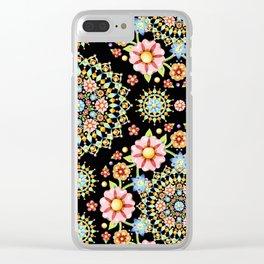 Flower Crown Bijoux Clear iPhone Case