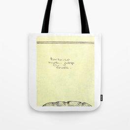 Tortoise High-Jump Tote Bag