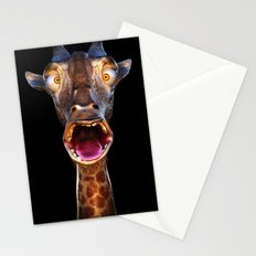 Animal Portraits - Giraffe Stationery Cards