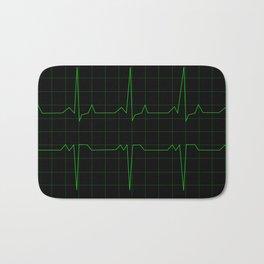 Normal Heart Rhythm Bath Mat