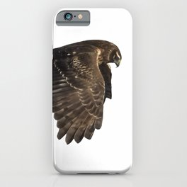 Northern Harrier Hunting, No. 4 iPhone Case