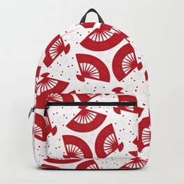 Red Folding Backpack
