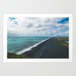 Endless Coastline Art Print