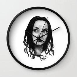 Morticia Addams Wall Clock