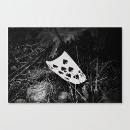 8 of spades Canvas Print
