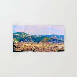 Italian Cityscape Hand & Bath Towel