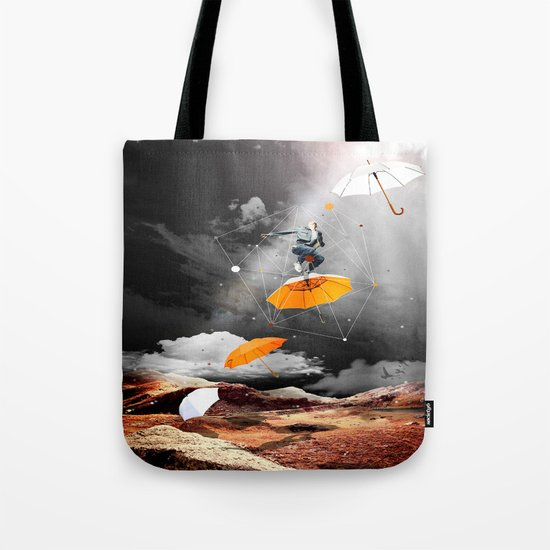 JUST BEFORE THE RAIN OF RUST Tote Bag