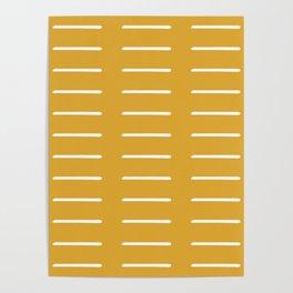 organic / yellow Poster