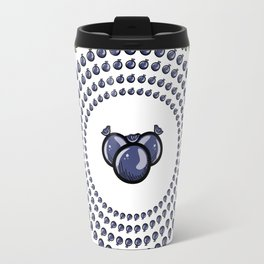 Lovely wreath with bilberry Travel Mug