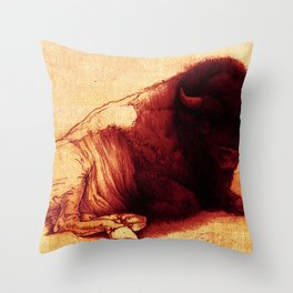 The Resting Of The Force Throw Pillow