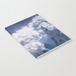 Grace and Beauty Defined a blue Hydrangea flower Notebook
