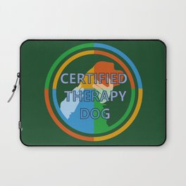 Animal Assisted Activities  - THERAPY DOG 8 Laptop Sleeve