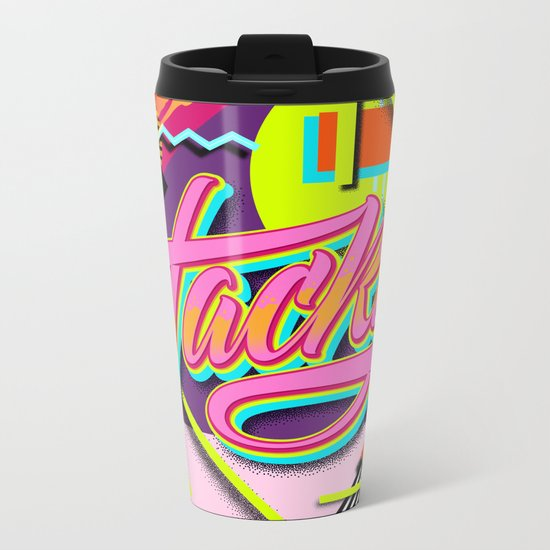Tacky Metal Travel Mug