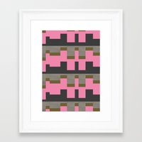 castle Framed Art Prints featuring castle by Georgiana Paraschiv