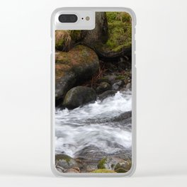 Travel to Slovakia for the ski resort of Jasna Clear iPhone Case