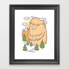 Love Nature Framed Art Print