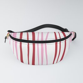Pink Tree Lines Fanny Pack
