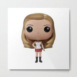 Buffy Toy Metal Print