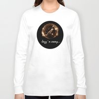 miles davis Long Sleeve T-shirts featuring Miles Davis - Jazz´n away by ARTito