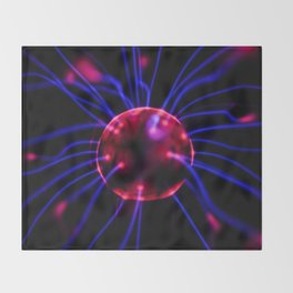 The Brain Connection (Color) Throw Blanket