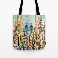 andreas preis Tote Bags featuring we by sylvie demers