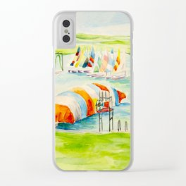 Camp Longhorn - The Blob Clear iPhone Case