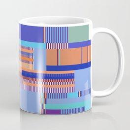 Scandinavian Moon (Blue Salmon Colours) Coffee Mug