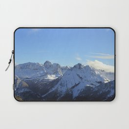 Snow Covered Mountain Laptop Sleeve