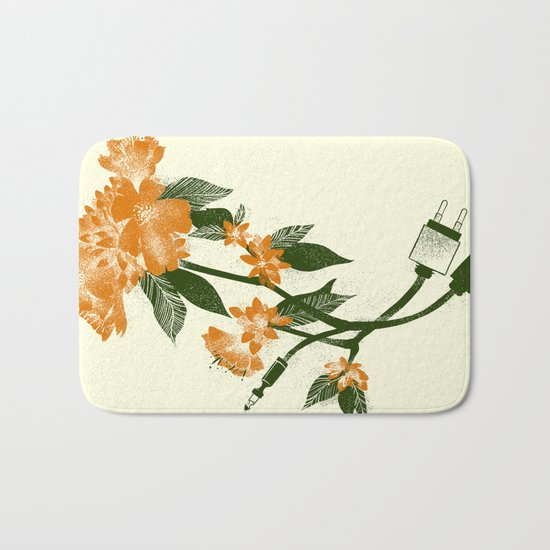 Digital Spring Bath Mat