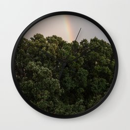 This Phenomenon is caused by Reflection, Refraction and Dispersion Wall Clock