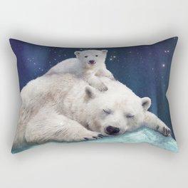 Polar Bears Rectangular Pillow