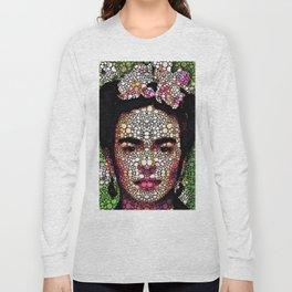 Frida Kahlo Art - Define Beauty Long Sleeve T-shirt