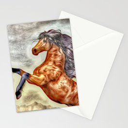 Painted Horse 3 Stationery Cards
