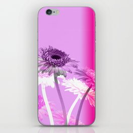 flowers are flowers and pink is the warmest color iPhone Skin
