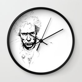The world is rotten Wall Clock