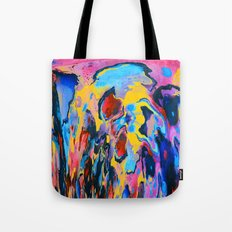Sunset Oil Tote Bag