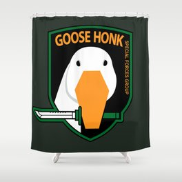 GOOSE HONK Shower Curtain