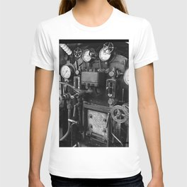 Steam Engine Controls T-shirt