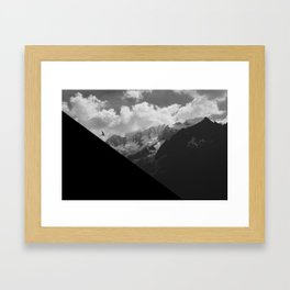 Dance the Alps Framed Art Print