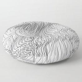 Multiplied Parallel Lines No.: 02. Floor Pillow