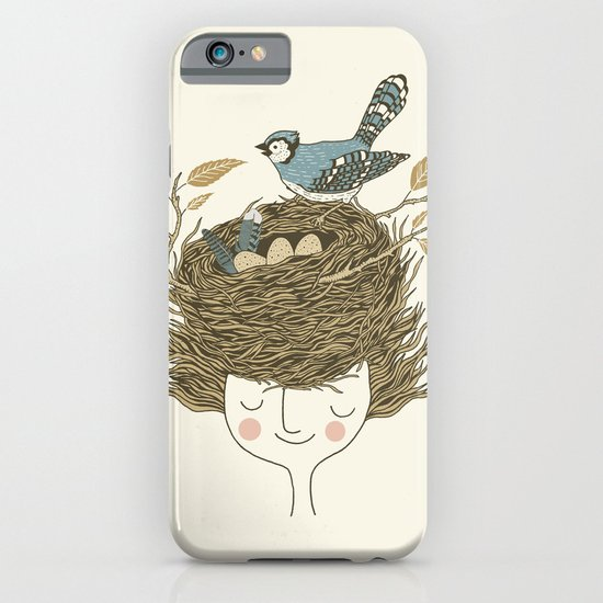 Bird Hair Day iPhone & iPod Case