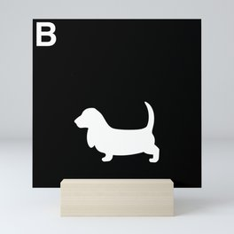 Basset Hound | Dogs Mini Art Print