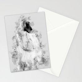Afghan Hound Stationery Cards