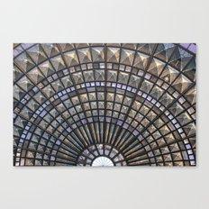 Union Station Window Canvas Print