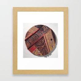 """""""TEASER""""  Framed Art Print"""