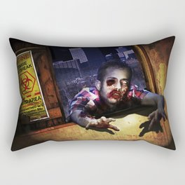 Z Attack! Rectangular Pillow