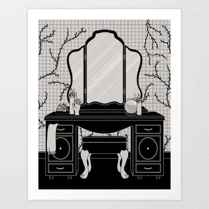 Mirror Altar Art Print