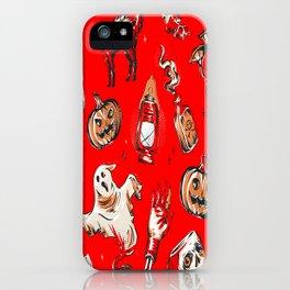 Halloween Horor Gifts for Halloween iPhone Case