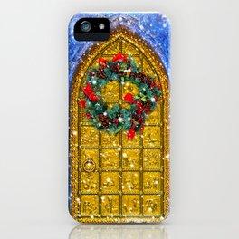 Singing Tower Carol iPhone Case