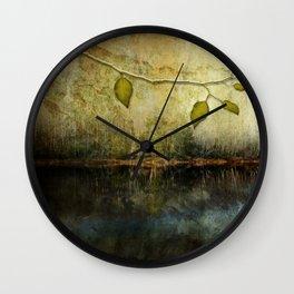 Golden River Wall Clock